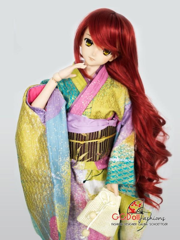 Masami Cotton Kimono (Multicolor)