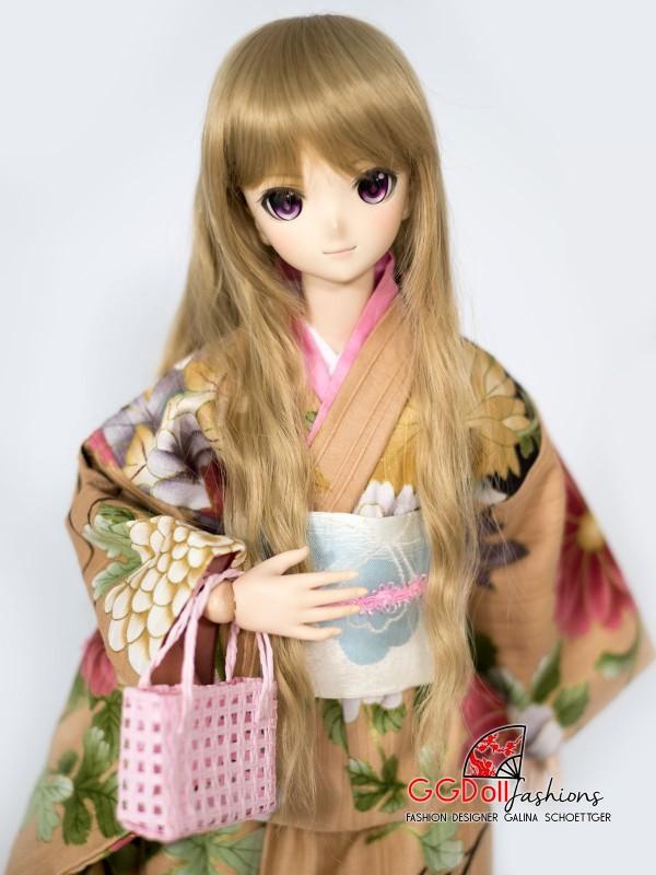 Asuka Cotton Kimono (Cream)