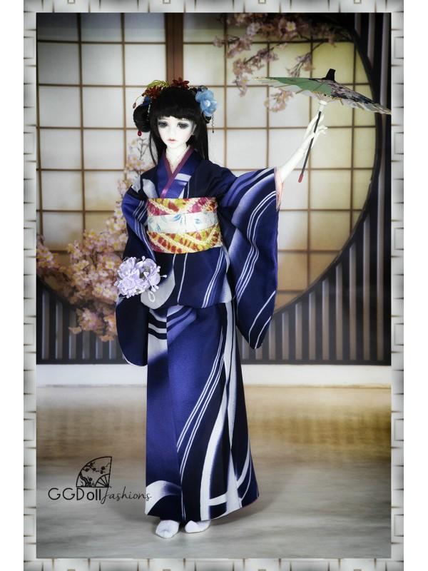 [ONE OFF] Amagawa Mixed Silk Kimono (Red)