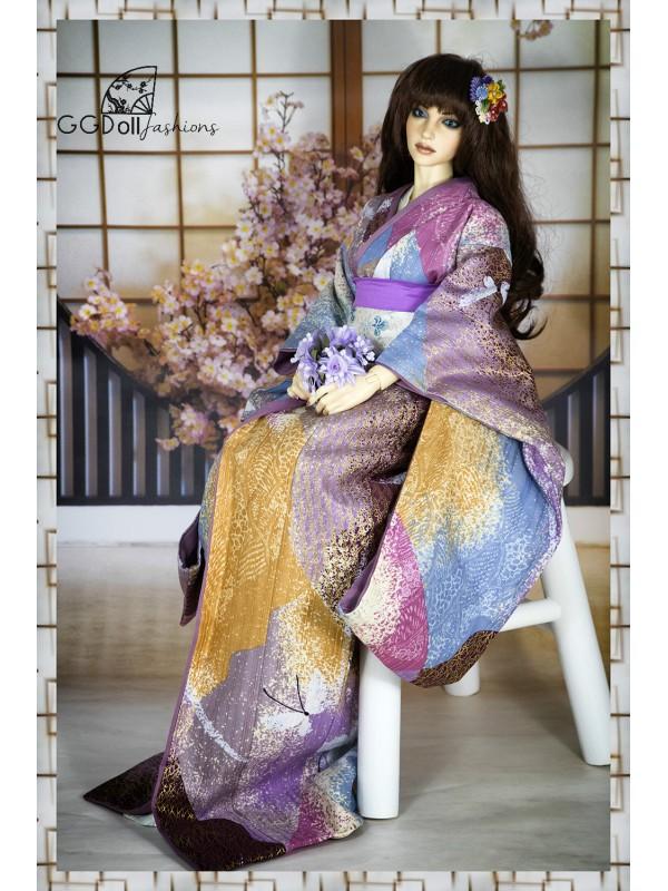 Masami Cotton Kimono (Purple)