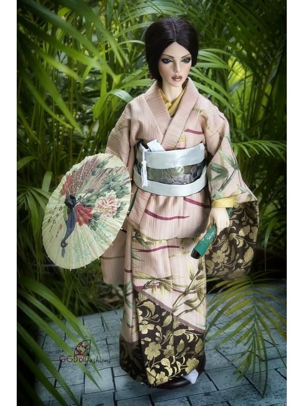 Kotake Cotton Kimono (Pink)