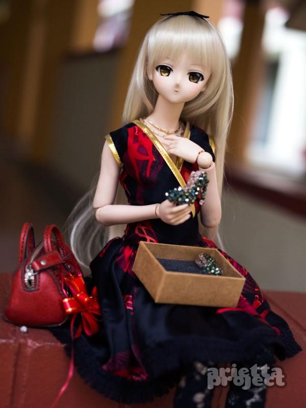 Elegant Romance Silk Dress