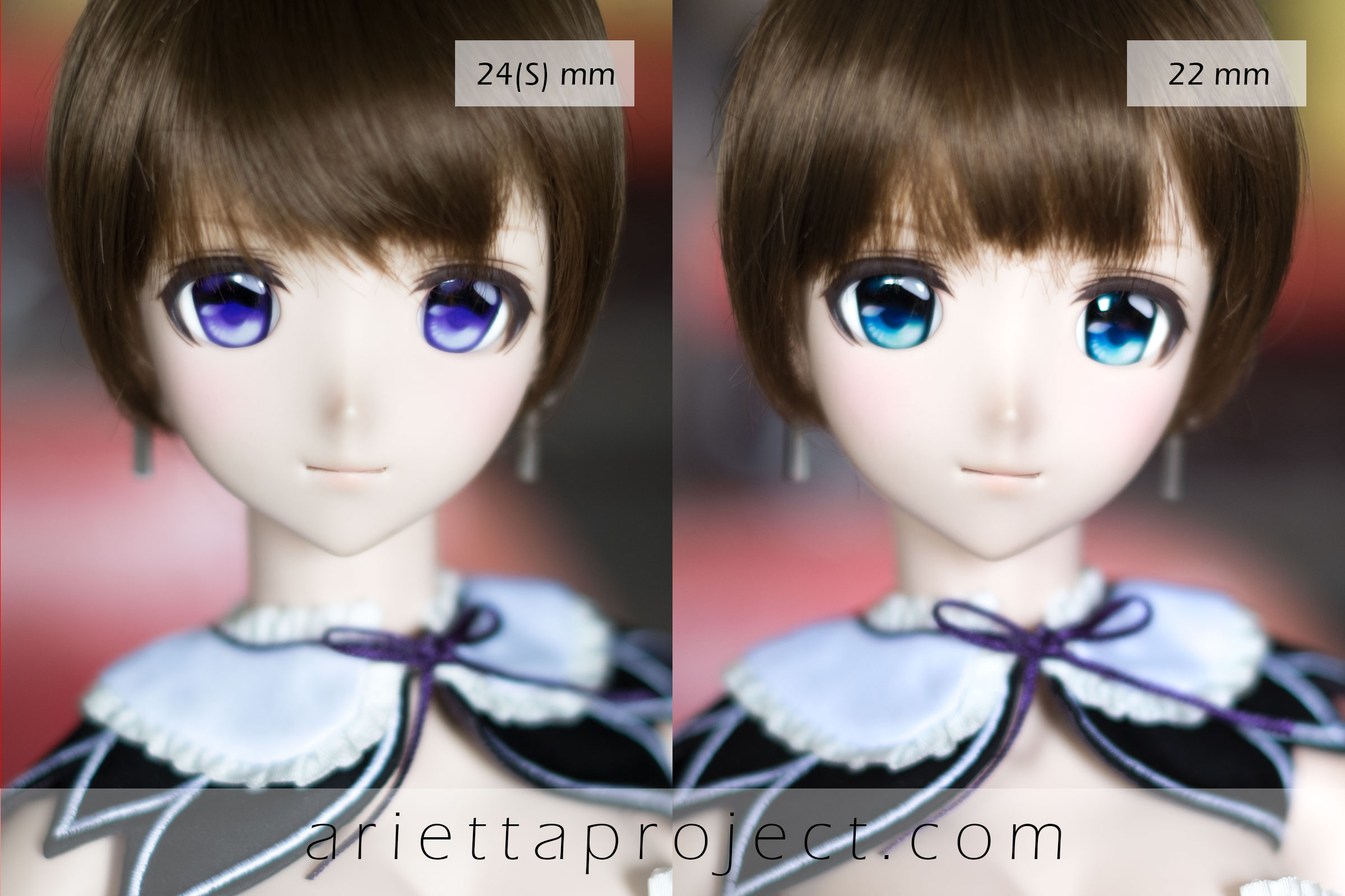 AP 24(S)mm vs 22mm Eye Size